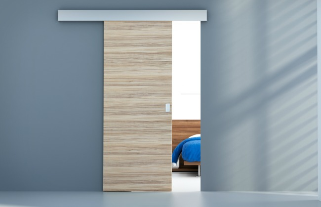 Puertas de paso grupo jlr for Puerta corredera interior madera