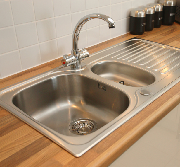 New Domestic Kitchen Sink