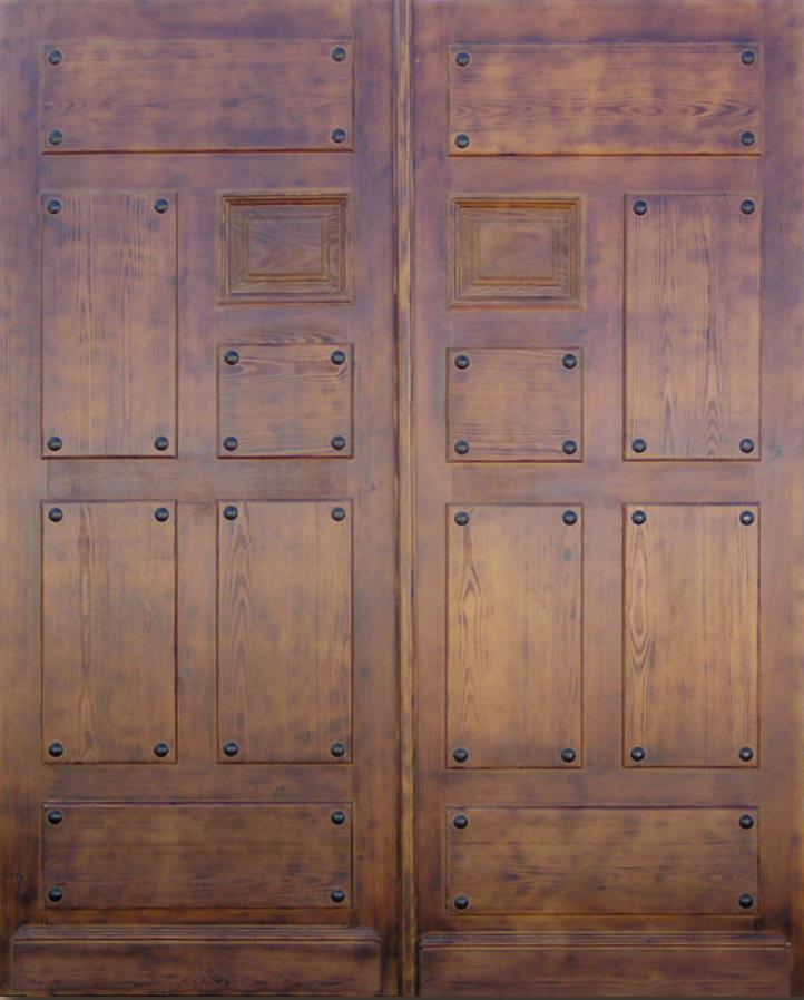 Puertas macizas 2